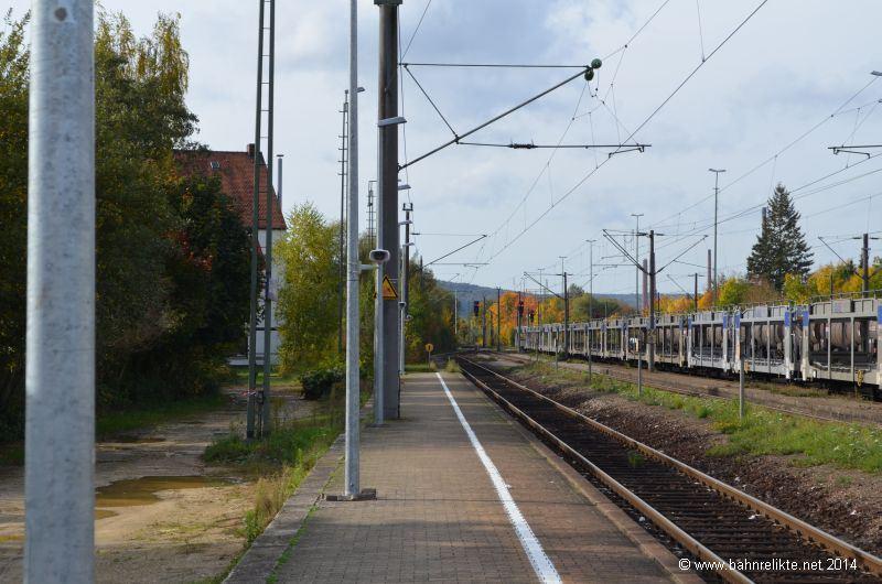 Saal Donau Bahnhof